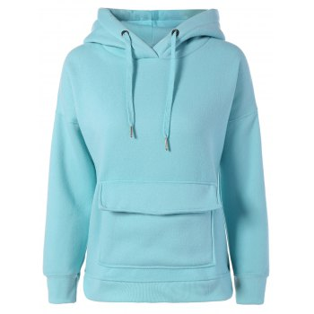 Patch Pocket Pullover Hoodie