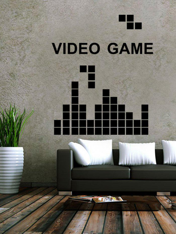 Video Game Design Living Room Removable Wall Stickers removable famous proverb design room office wall stickers