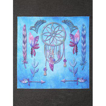 Ombre Dreamcatcher Printed Square Beach Throw