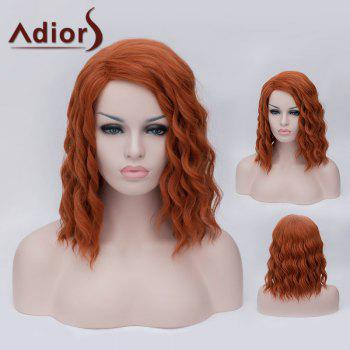 Adiors Side Parting Medium Fluffy Wavy Party Synthetic Wig