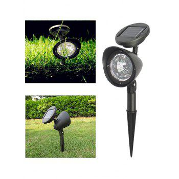 2Pcs Solar Power Outdoor Path Lawn LED Night Light