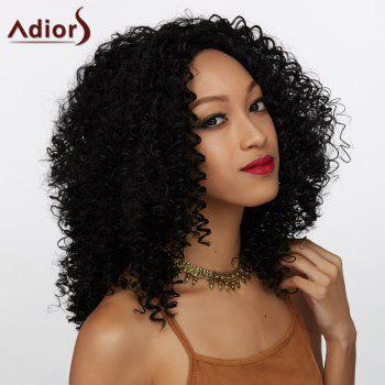 Adiors Towheaded Long Middle Part Curly Synthetic Wig