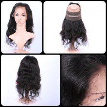 Faddish Long Body Wave 360° Lace Human Hair Wig