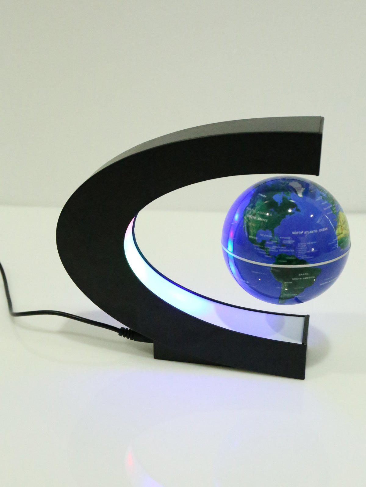 C Shape Floating Magnetic Globe With LED Light 1 18 scale china ford edge diecast suv car model toys for gifts collection hobby