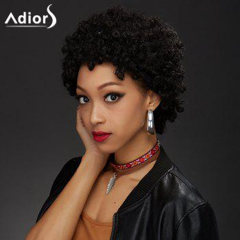 Adiors Synthetic Ultrashort Afro Curly Wig