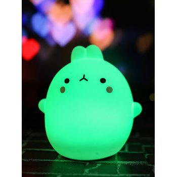 Easter Gift USB Silica LED Cartoon Night Light - COLORFUL