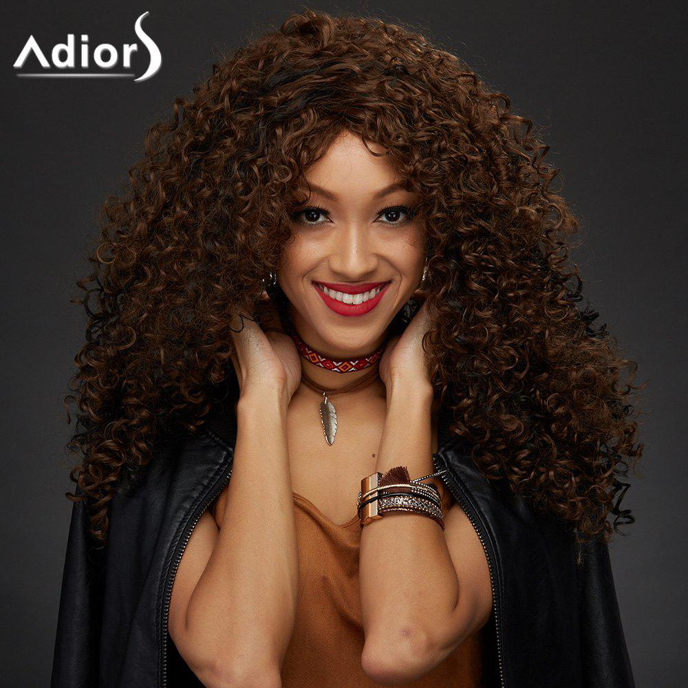 Adiors Colormix Shaggy Curly Synthetic Vogue Long Wig - COLORMIX