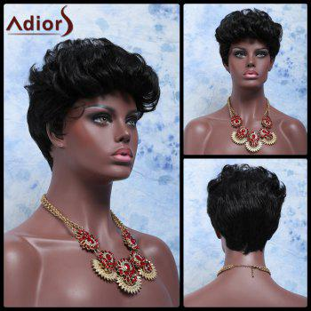 Short Adiors Hair Fluffy Curly Synthetic Wig