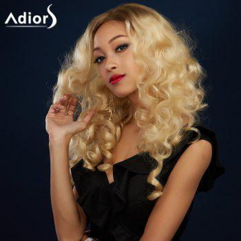 Adiors Side Parting Long Colormix Shaggy Wavy Synthetic Wig