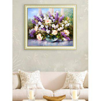 Handmade Embroidery DIY Beads Painting Flower Cross Stitch