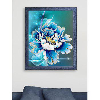 DIY Handmade Embroidery Peony Pattern Cross Stitch