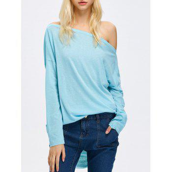 Off The Shoulder High Low Tee