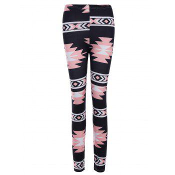 Plus Size Patterned Christmas Leggings