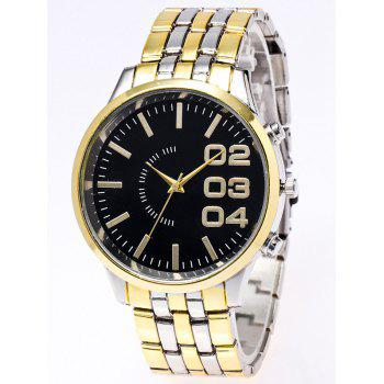 Quartz Watch with Stainless Steel Watchband