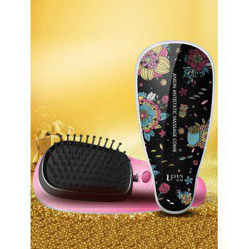 Hair Straightener Detangling Brush Massage Comb