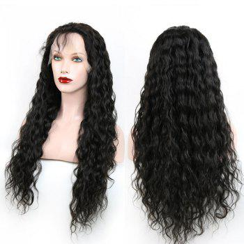 Fluffy Curly Heat Resistant Synthetic Long Lace Front Wig