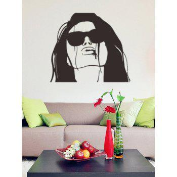 Artistic Lady Figure Wall Stickers Home Decoration