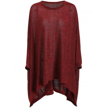 Plus Size Long Sleeve Tunic Tee