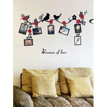 Photo Frame Wall Stickers For Living Room
