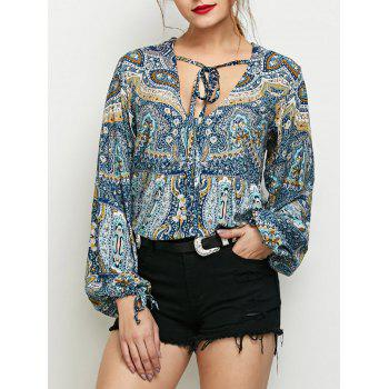 Long Sleeve Boho Top