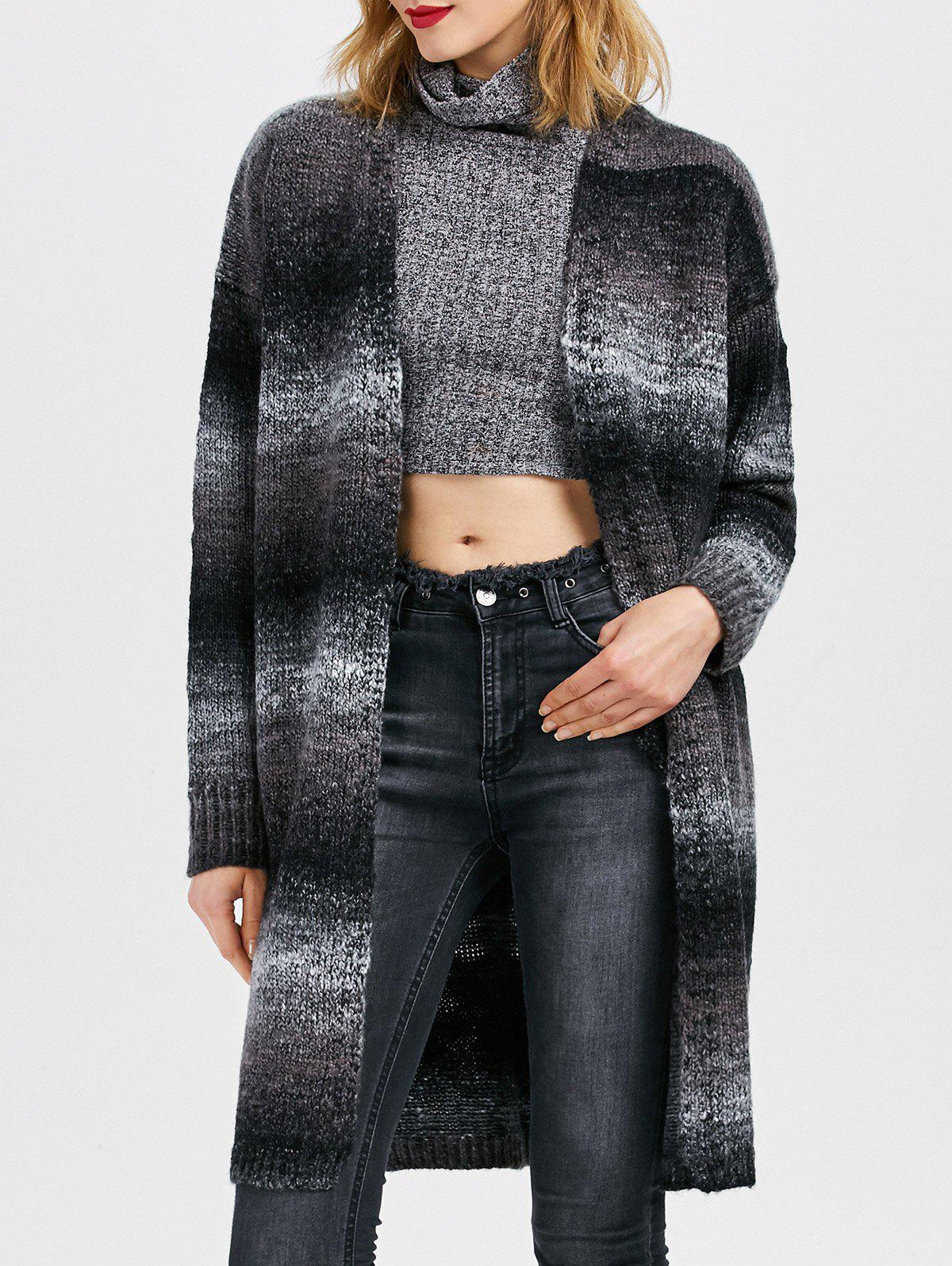 Collarless Knit Open Front Cardigan inc new beige women s small s marled knit open front cardigan sweater $89 201