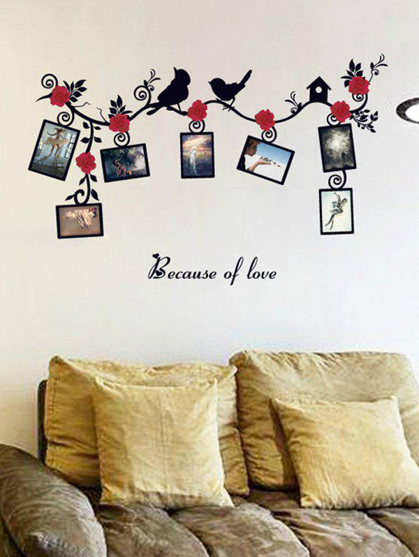 Photo Frame Wall Stickers For Living Room fixmee 50pcs white plastic invisible wall mount photo picture frame nail hook hanger