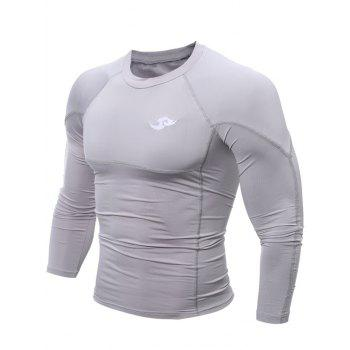 Tight Stitching Crew Neck Logo Cycling Jerseys