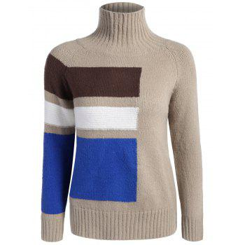 Funnel Neck Raglan Sleeve Sweater