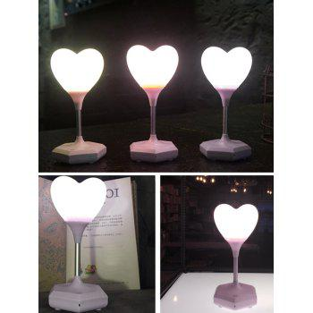 Heart Shape USB Room Decor LED Table Lamp