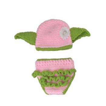 Crochet Newborn Baby Photography Clothes Set