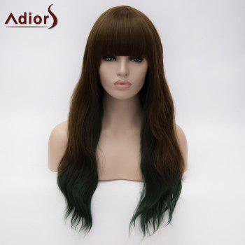 Adiors Neat Bang Long Instant Noodles Curly Colormix Synthetic Wig