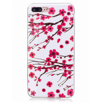 Plum Blossom Luminous Phone Back Cover For iPhone - FOR IPHONE 7 PLUS FOR IPHONE 7 PLUS