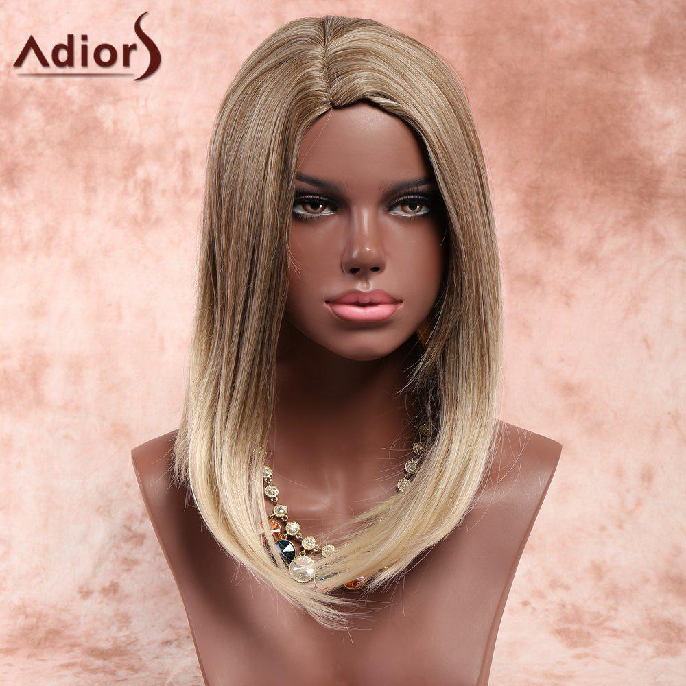 Adiors Medium Side Parting Bob Straight Colormix Synthetic Wig ювелирные серьги sokolov серьги