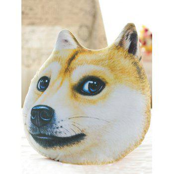 Novelty 3D Akita Home Decoration Dog Shape Design Pillow