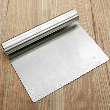 Inch Scale Stainless Steel Dough Scraper Baking Tool