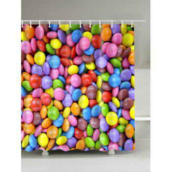 Candy Digital Print Shower Curtain