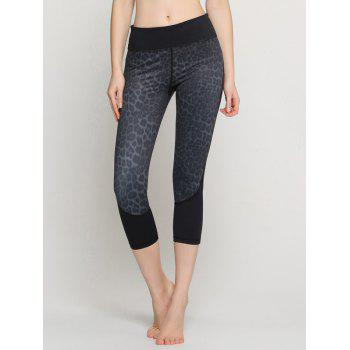 Leopard Capri Yoga Leggings