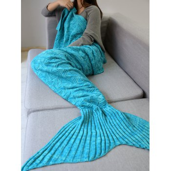 Crochet Sleeping Bag Wrap Mermaid Blanket