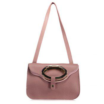 Metal Cover Shoulder Bag
