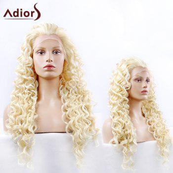 Adiors Long Fluffy Synthetic Curly Lace Front Wig