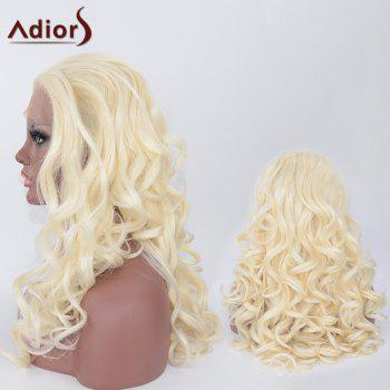 Adiors Long Fluffy Synthetic Wavy Lace Front Wig