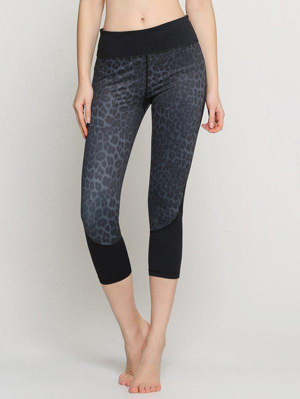 Leopard Capri Yoga Leggings leopard print leggings