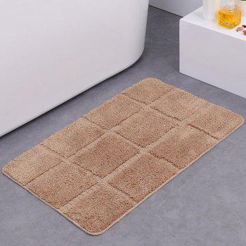 Gingham Plaid Water Absorbent Skidproof Rug