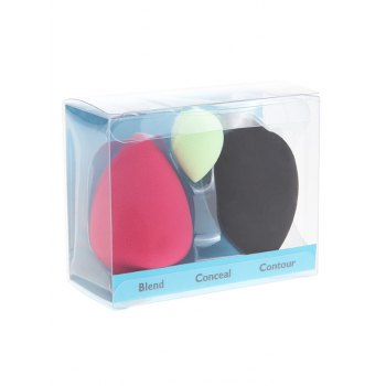 3 Pcs Multipurpose Makeup Sponges - COLORMIX