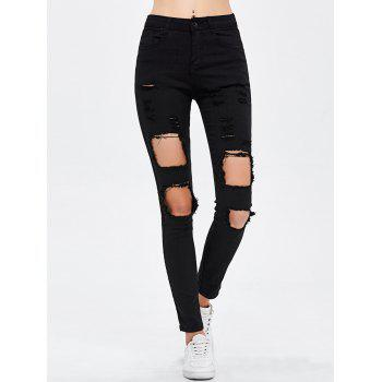 Destroyed Bodycon Jeans