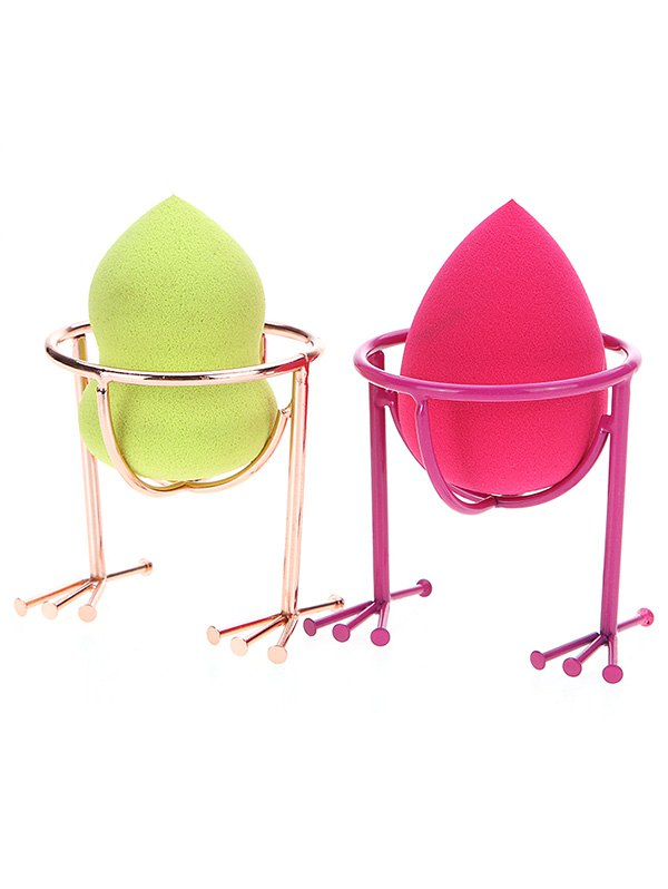 2 Pcs Makeup Sponge Holder Drying Stand - COLORMIX