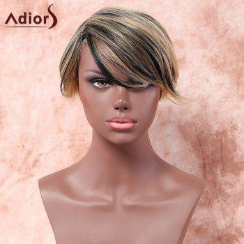 Adiors Short Colormix Side Parting Straight Synthetic Wig