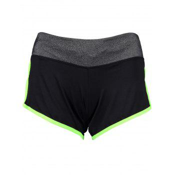 Piped Running Shorts