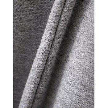 Bell Sleeve Pullover Hoodie - L L