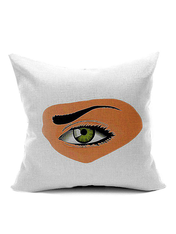 Eye Pattern Home Decoration Throw Pillow CaseHome<br><br><br>Color: WHITE